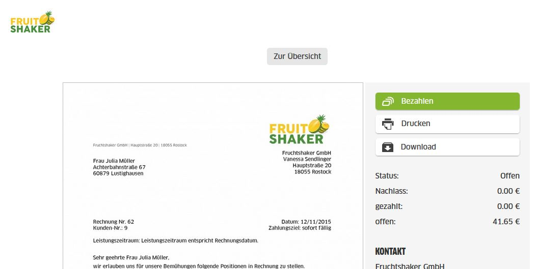 wie nutze ich ein eigenes logo in der online rechnung fastbill support. Black Bedroom Furniture Sets. Home Design Ideas